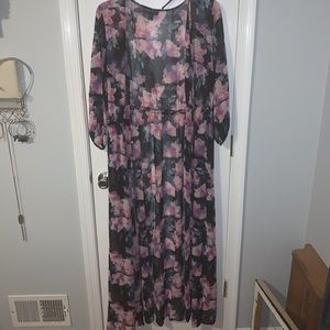 Floral Sheer Cover